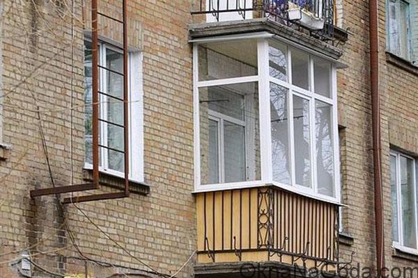 Остекление балконов в хрущевке. как застеклить балкон в хрущ.