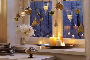 Новогодние украшение на двери своими руками фото