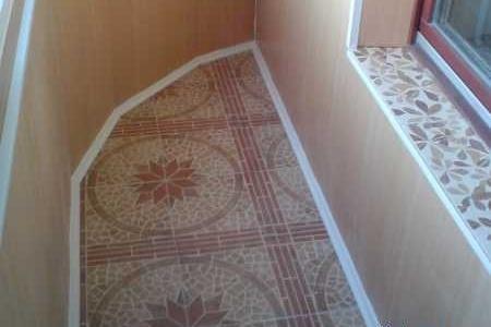 Варианты полов на балконе - Чем уложить, покрыть полы на бал.