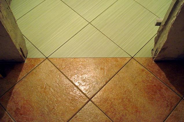 Укладка по диагонали (базовый