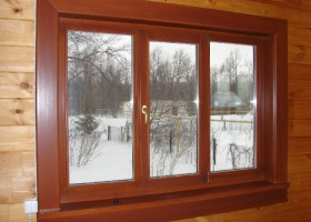 Остекление деревянных домов и коттеджей, какие окна поставить на даче