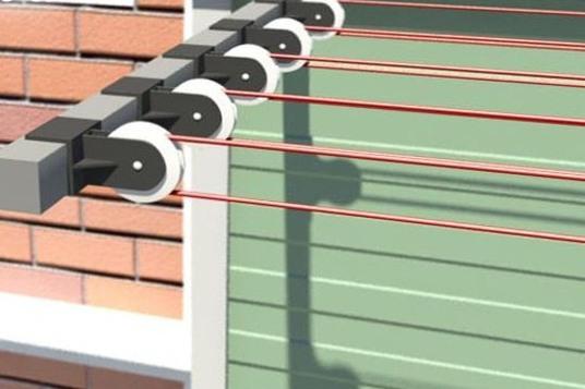 сушилка на балкон для белья потолочная настенная сушка на лоджию