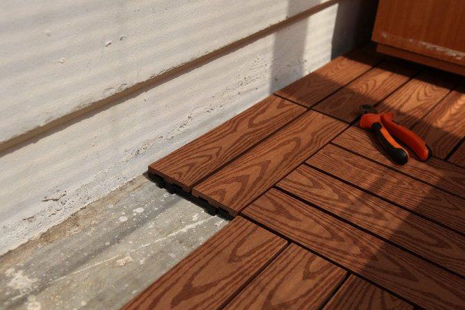 Сделать деревянный пол на балконе своими руками
