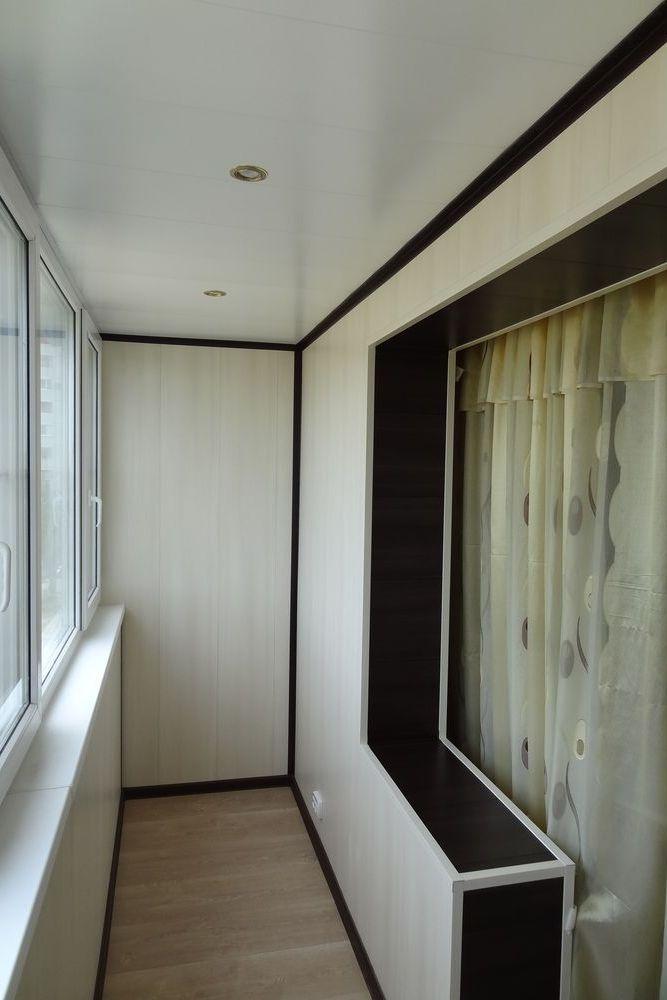 Балкон утепленный дизайн