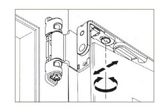 Регулировка запора пластиковой двери на балкон..