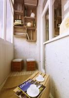 Комната отдыха на балконе площадью 2, 7 кв