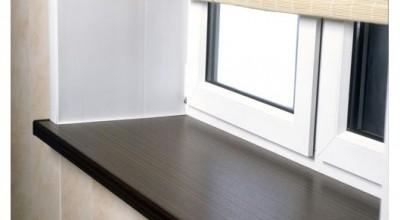 Как установить пластиковый подоконник самому, установка деревянного подоконника