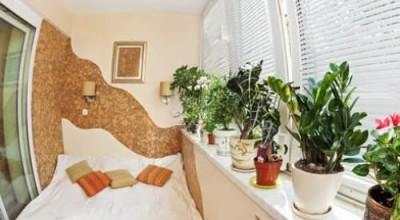 Идеи для спальни на балконе, варианты дизайна спальни с балконом фото