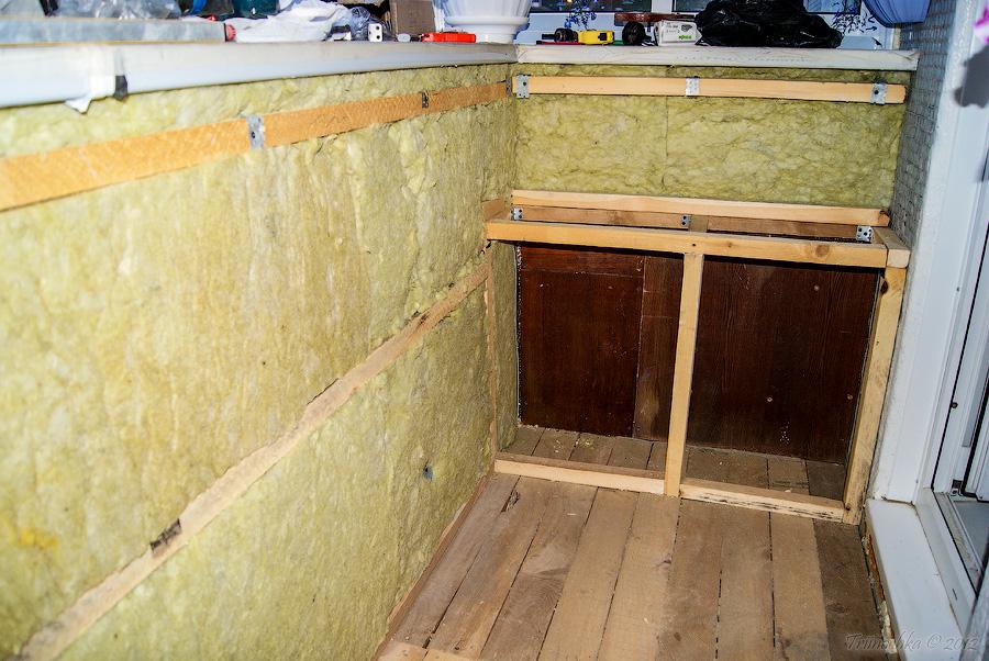 балконов в утепление инструкция хрущевках