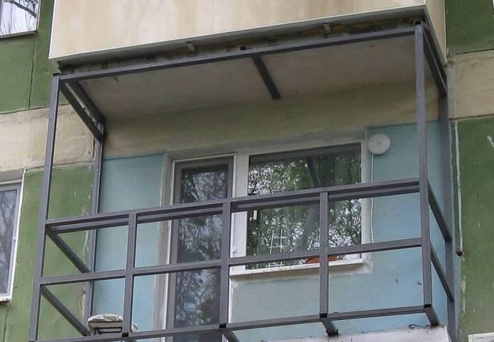 Остекление балкон своими руками фото