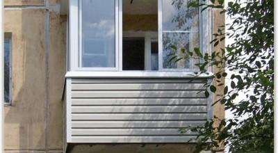 Отделка балкона сайдингом, обшивка лоджии ПВХ своими руками