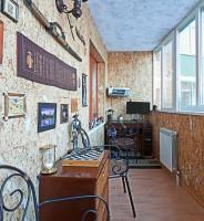Как выбрать обои на балкон, жидкие и бамбуковые обои на лоджии фото