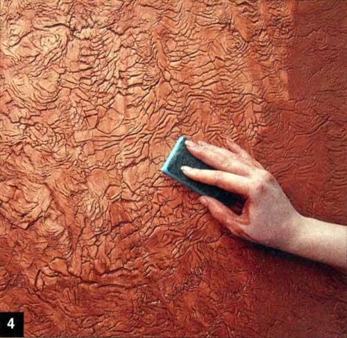 Оригинальная штукатурка стен