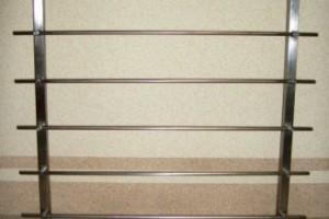 Балконные ограждения из нержавейки, цены на ограду