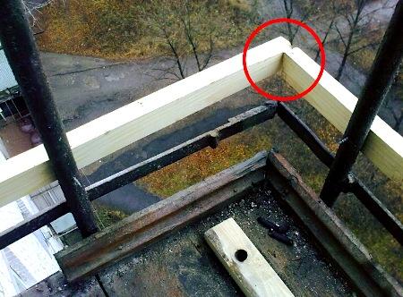 Как обшить балкон профнастилом, облицовка профлистом.