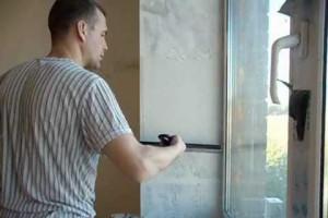 Отделка откосов окна пластиком своими руками