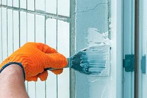 Наружная отделка откосов пластиковых окон, штукатурка и утепление откосов