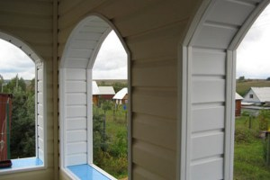 Уголки для арочных окон