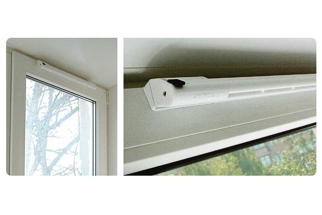 Вентиляция в окнах пвх