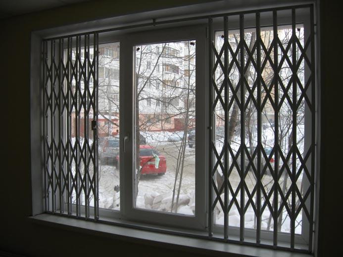 раздвижные решетки на балкон фото