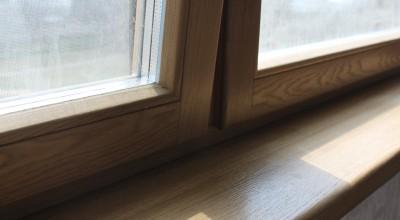Деревянные окна из дуба цена, дубовые окна со стеклопакетом