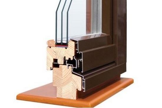 Деревянно алюминиевые окна, дерево алюминиевые окна: цены, ф.