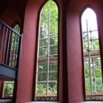 Стиль деревянных арочных окон