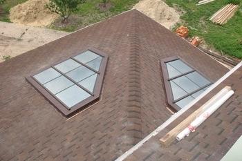 Глухое окно в крышу 132