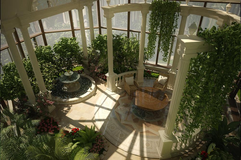 Оранжерея в частном доме своими руками 55