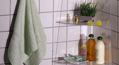 Как сделать полочку на краю ванны