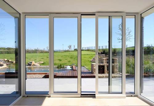 Входные алюминиевые двери разновидности, выбор и установка