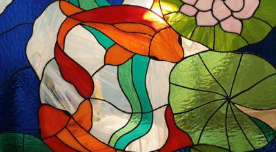 Красивые рисунки на стекле Построй свой Дом! 63