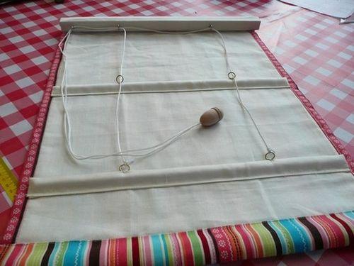 Изготовление рулонных штор своими руками