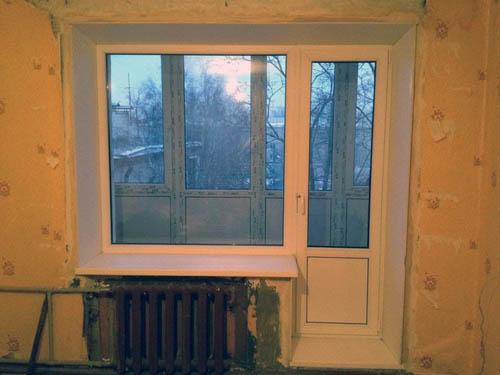 Классификация, выбор и монтаж оконного пластикового блока в квартиру