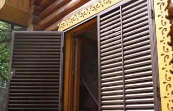 изготовление ставни металлические на окна