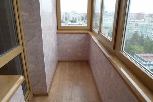 Какие материалы лучше использывать при отделке балконов и лоджий