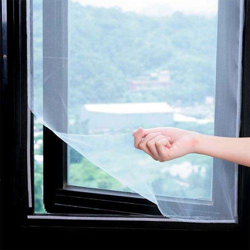 Как прикрепить москитную сетку на деревянное окно