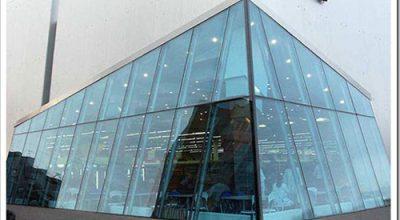 Vgradnja aluminijastih struktur iz vitražega stekla