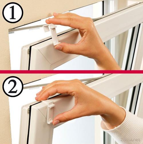 Как снять жалюзи с окна