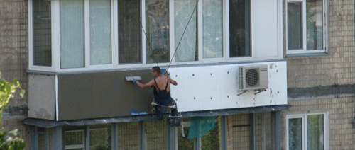 Особенности утепления балкона пенопластом и последовательнос.