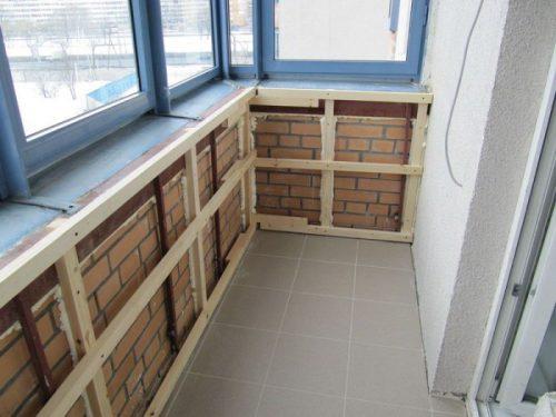 Утеплить балкон изнутри своими руками в панельном доме