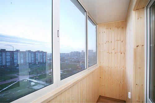 Утепление балкона внутри