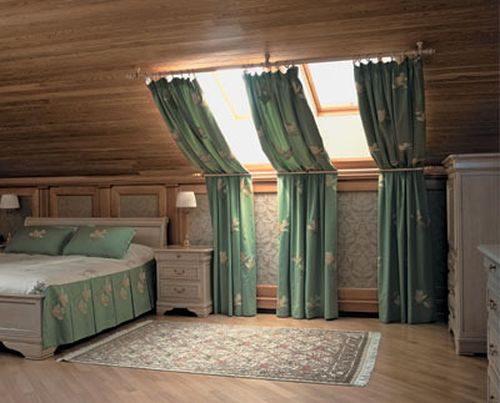 Как выбрать шторы и крепления на мансардные окна