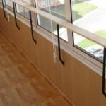 Азовый конвектор для балкона, отопление лоджии газом.