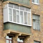 Остекление сталинского балкона