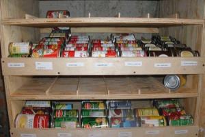 хранение продуктов на балконе с холодным остеклением