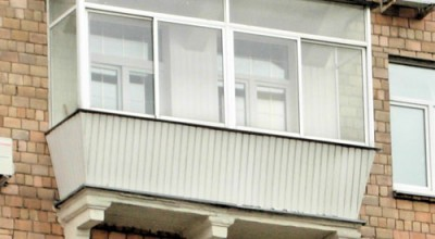 застекленный балкон в сталинском доме