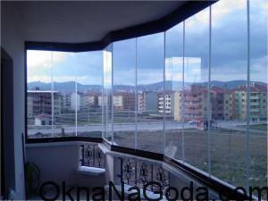 Фото панорамного остекления балкона или лоджии