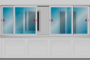 раздвижные оконные системы для балкона