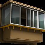"""Перейти в раздел """"Остекление балконов и лоджий"""""""